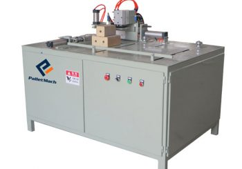 Auto wood block cutting machine