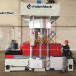 pressed wood pallet machine