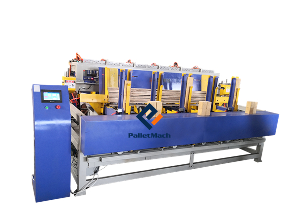 Automatic Pallet Legs Nailing Machine