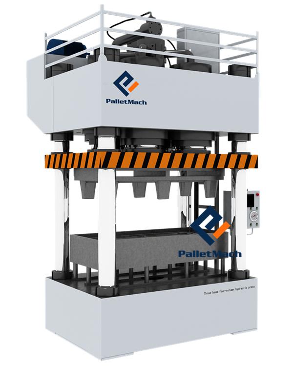 presswood pallet machine