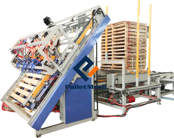 Automatic Pallet Nailing Machine