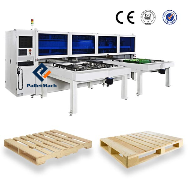 CNC Pallet Nailing Machine for American Wood Pallet