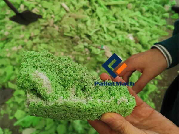plastic pallet material